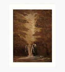 """Rustic Fall""  by Carter L. Shepard Art Print"