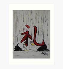 """Rei""  by Carter L. Shepard Art Print"