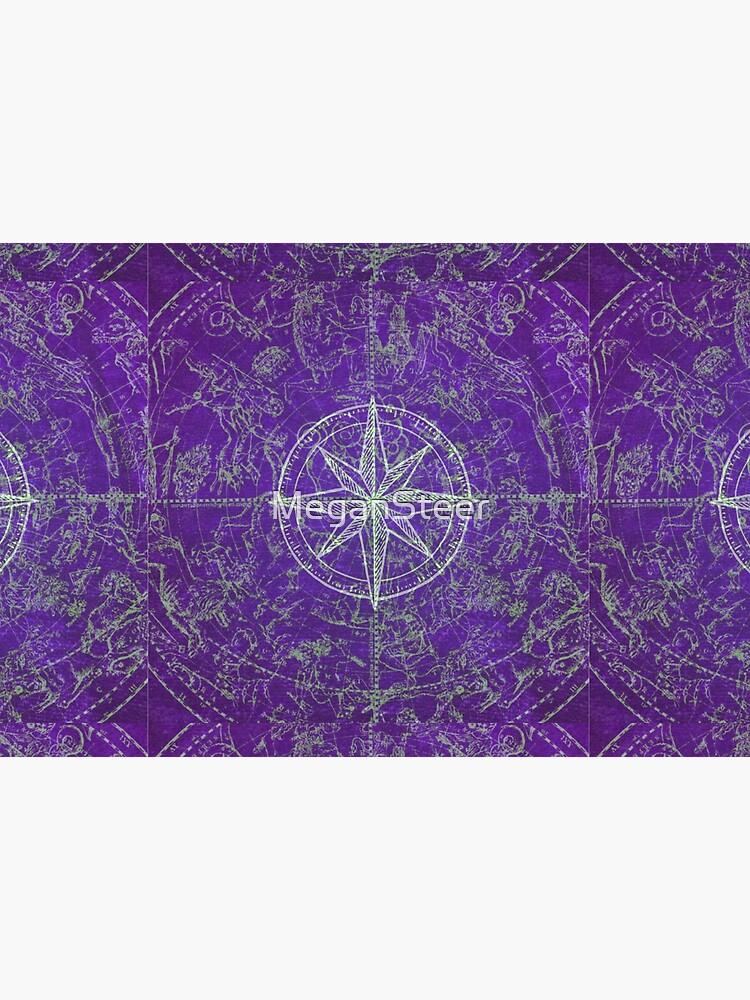 Map of the Heavens in Purple by MeganSteer