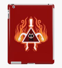 Angry Bill Cipher - Red iPad Case/Skin