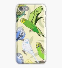 Budgies - Pale iPhone Case/Skin