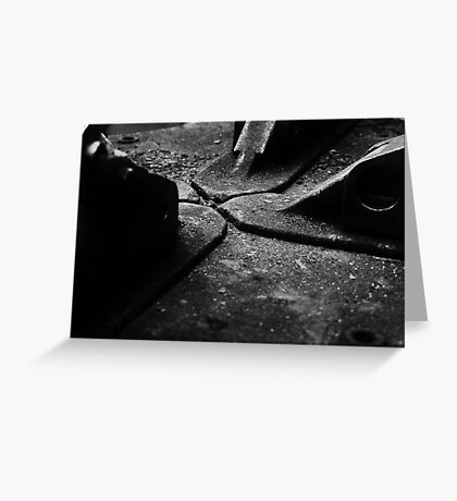Surface Texture  Greeting Card