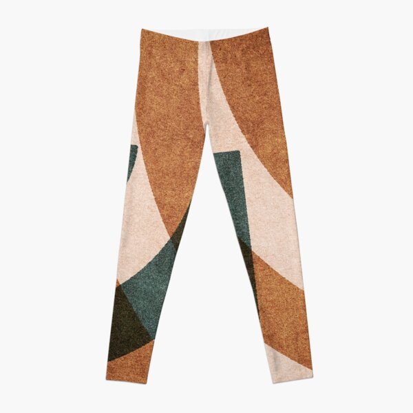ABSTRACT ALPHABET / Decorative G Leggings