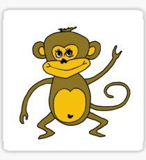 Little Monkey - Year of the Monkey 2016 : Chinese Zodiac Sign Sticker