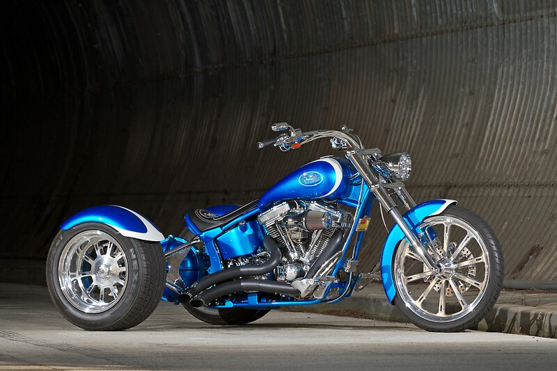 Quot Danny S Custom Harley Davidson Trike Quot Posters By