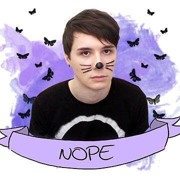 dan howell (with banner) by internetokay