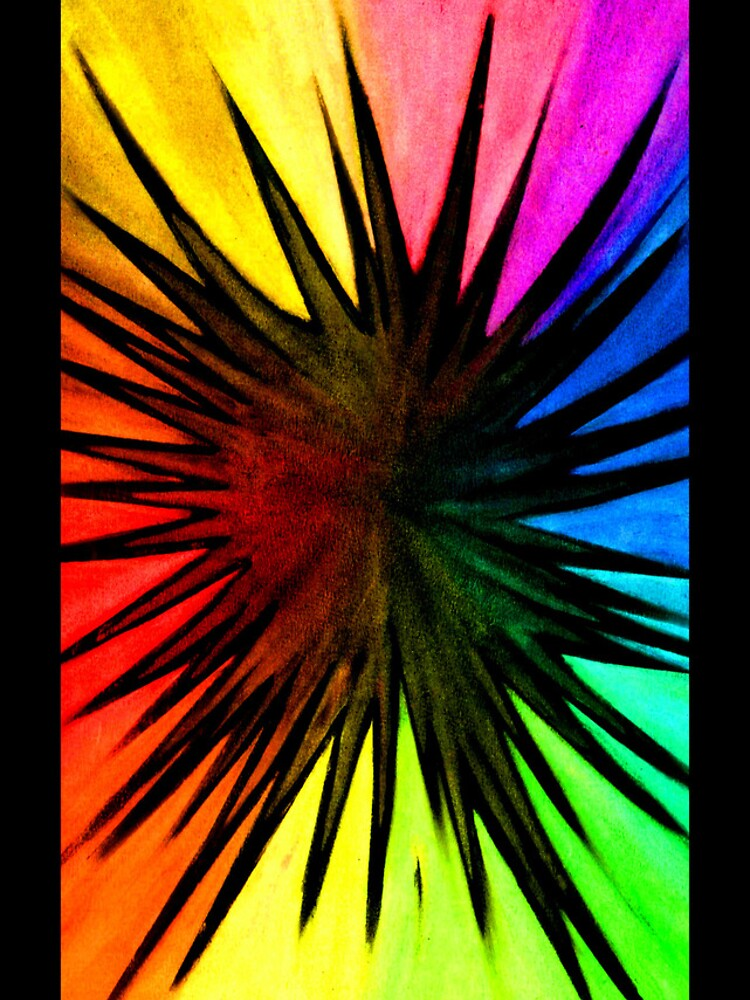 """Rainbow Splat"" - phone by michellelee"