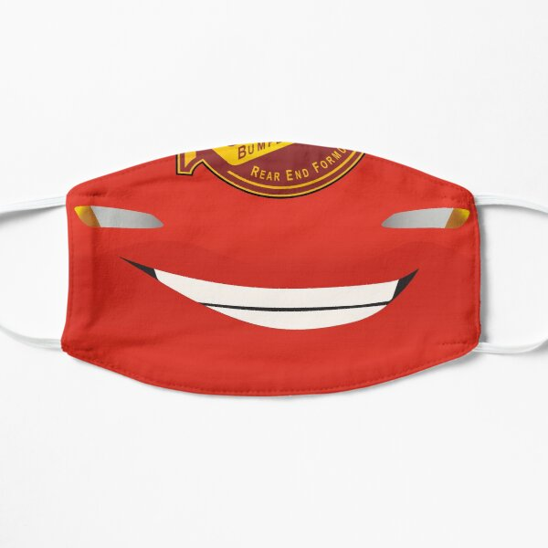 Lightning McQueen - Mouth Mask Mask