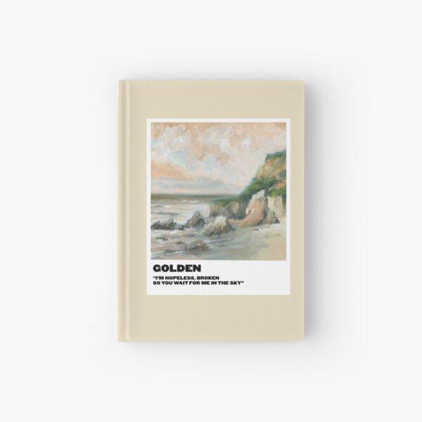 polaroid dorada Cuaderno de tapa dura