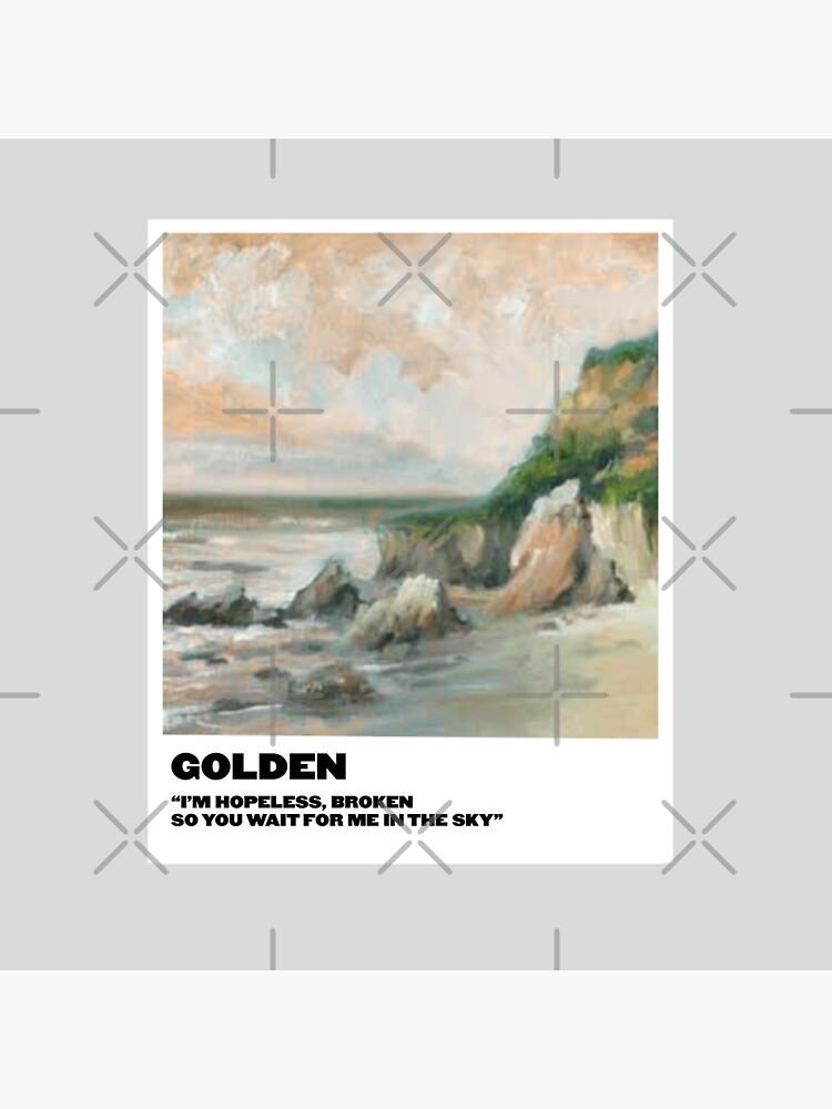 golden polaroid by sydneymrejen1