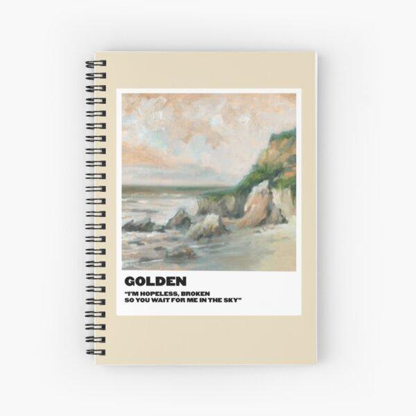 polaroid dorada Cuaderno de espiral