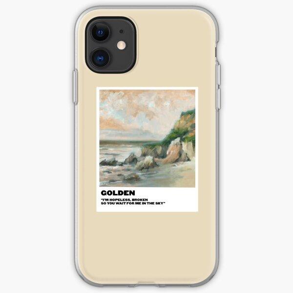 golden polaroid iPhone Soft Case