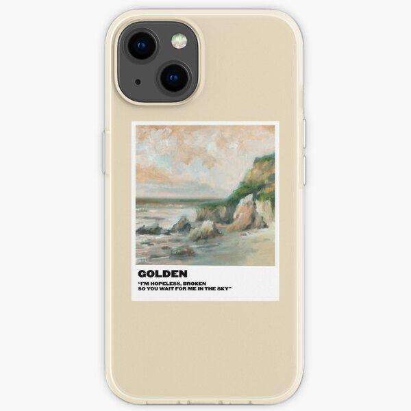 goldenes Polaroid iPhone Flexible Hülle