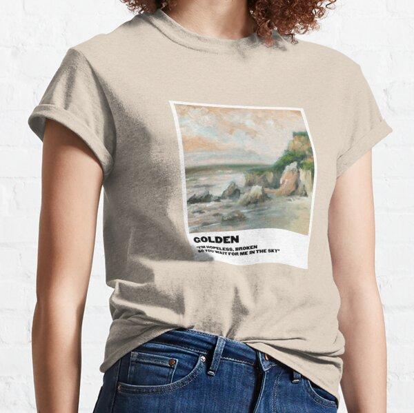 polaroid doré T-shirt classique