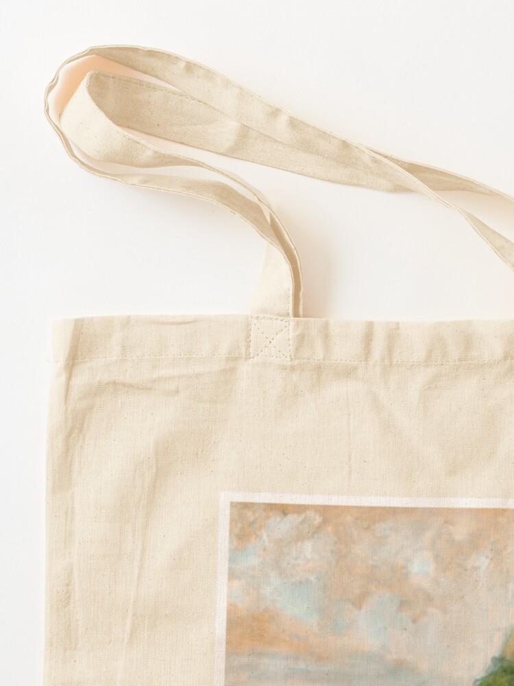 Alternate view of golden polaroid Tote Bag