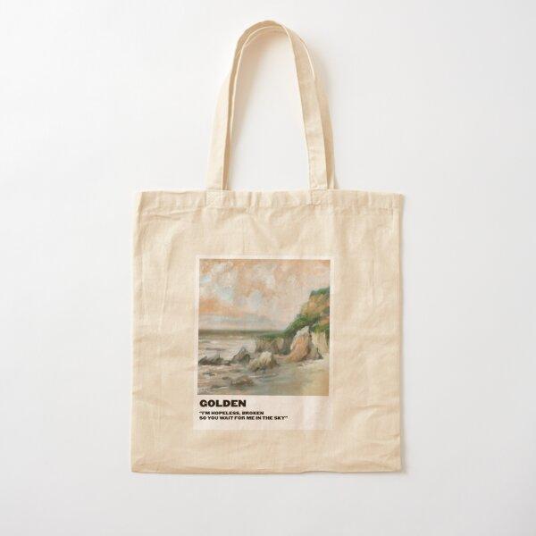 polaroid doré Tote bag classique