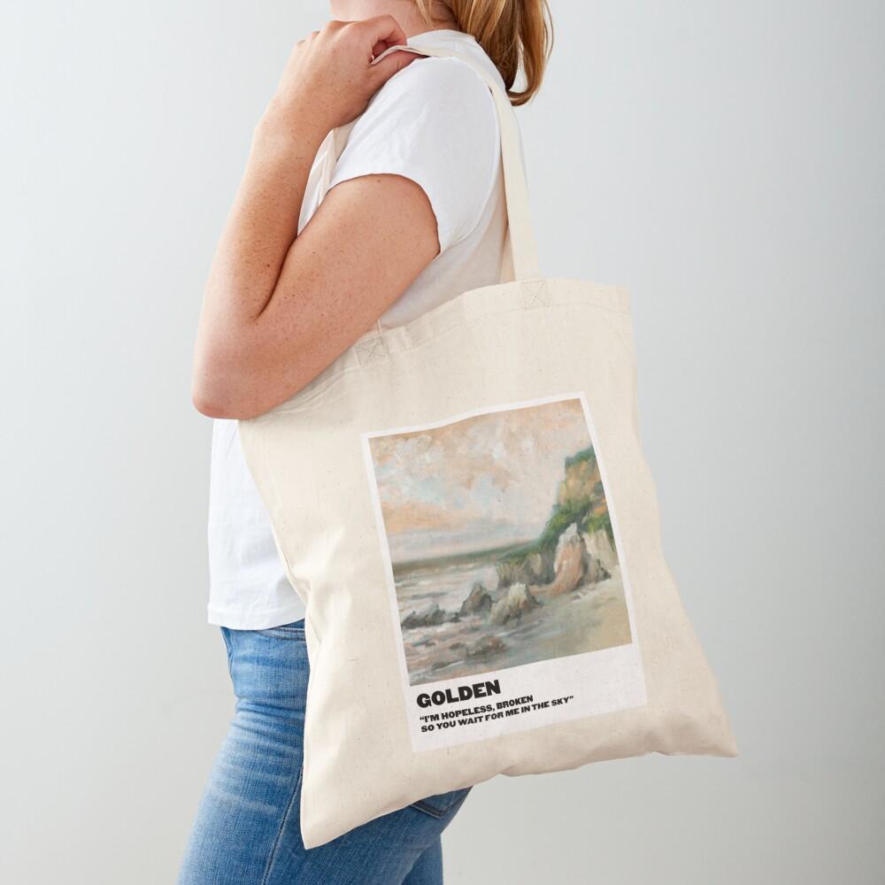 golden polaroid Tote Bag