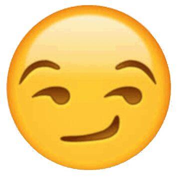 Smirking Face - Emoji by AGirlDrummer