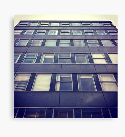 Retro Office Canvas Print
