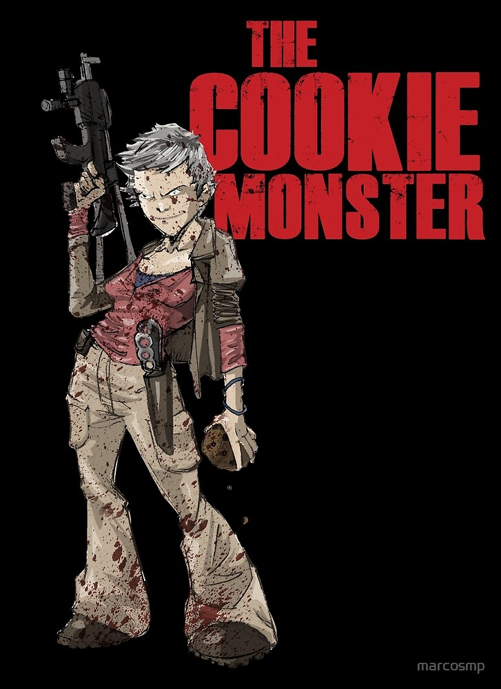 The Cookie Monster by marcosmp