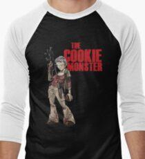 The Cookie Monster Baseball ¾ Sleeve T-Shirt