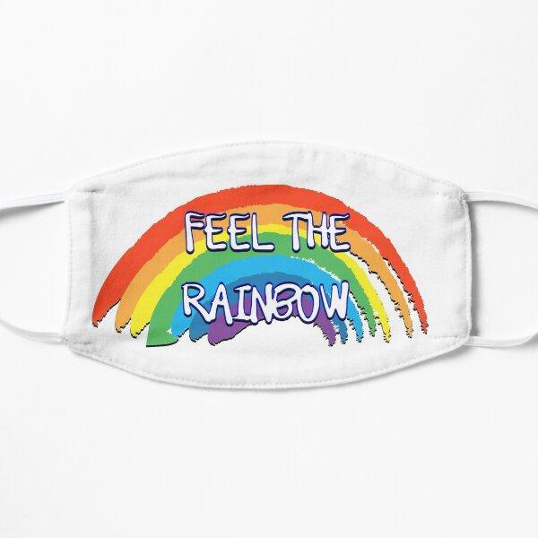 Feel the rainbow Flat Mask