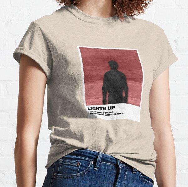 ilumina la polaroid Camiseta clásica