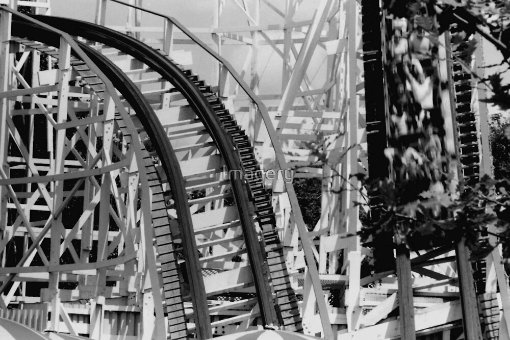 Kennywood--The Thunderbolt by Imagery