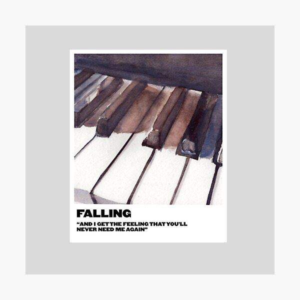 falling polaroid Photographic Print