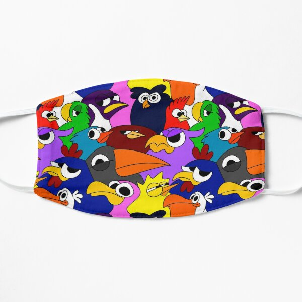 Colorful Flock 2 Mask