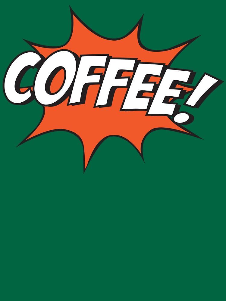 Comic Coffee! by KatieBuggDesign