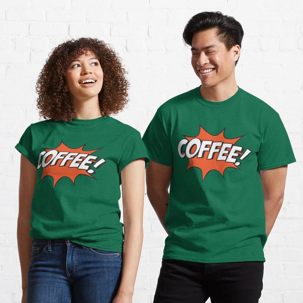 Comic Coffee! Classic T-Shirt