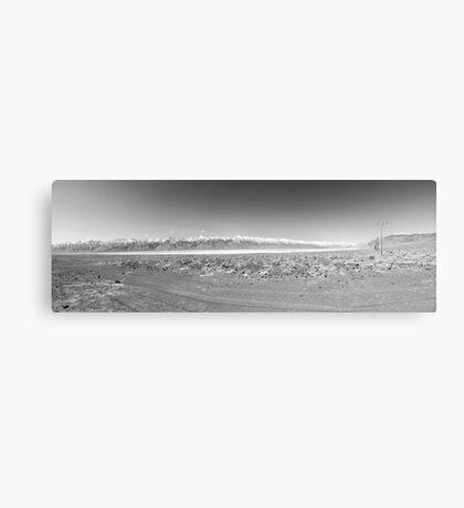 Owens Lake - Sierra Nevada Canvas Print