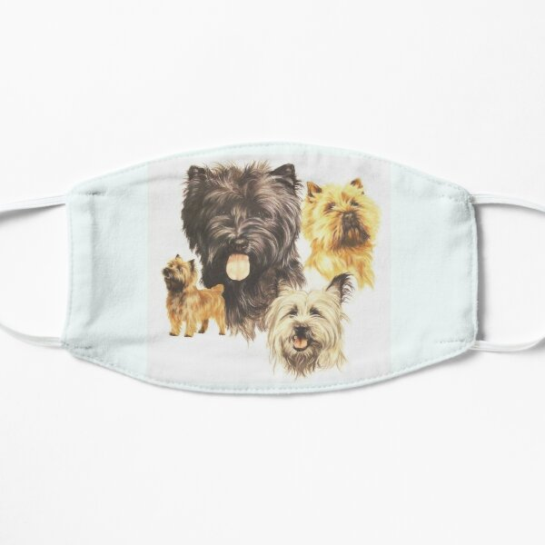 Cairn Terrier Collage Mask