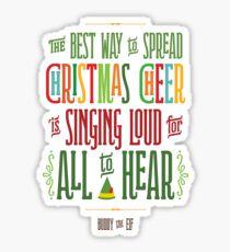 Buddy the Elf - Christmas Cheer Sticker