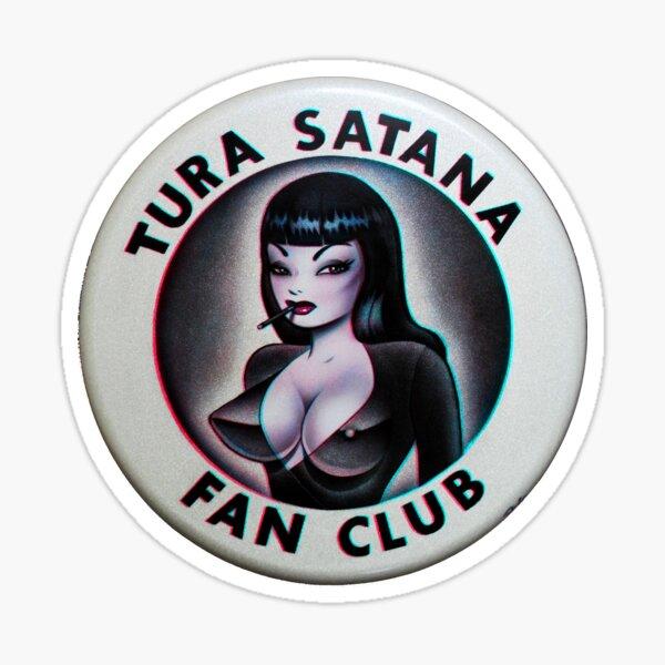 Tura Satana Fan Club Sticker