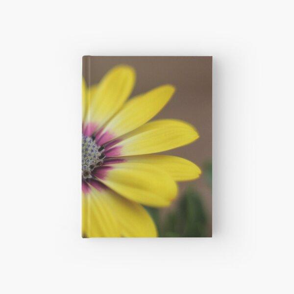 Macro Garden Flower Hardcover Journal