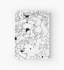 Time and Space aka Floating and Confused Animals Hardcover Journal