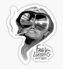 Fear And Loathing Sticker