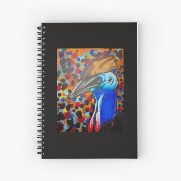Double Wattled  Spiral Notebook