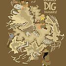 Chicks Dig Dinosaurs by C.J. Jackson