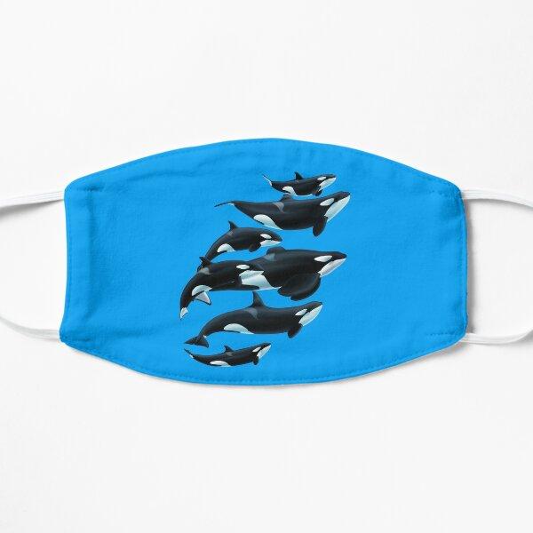 Florida Orcas Flat Mask