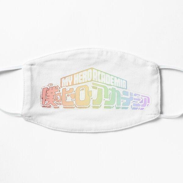 My Hero Academia - Rainbow (pastel white) Flat Mask