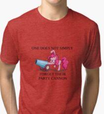 Pinkie Pie's Party Cannon Tri-blend T-Shirt