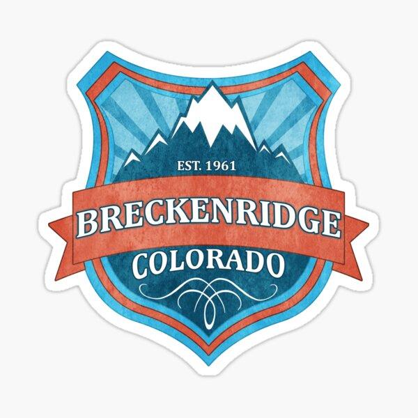 2 BRECK Breckenridge Die Cut Stickers Free Shipping