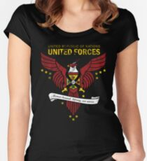 United Forces Insignia Women's Fitted Scoop T-Shirt