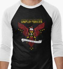 United Forces Insignia Men's Baseball ¾ T-Shirt