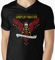 United Forces Insignia Men's V-Neck T-Shirt