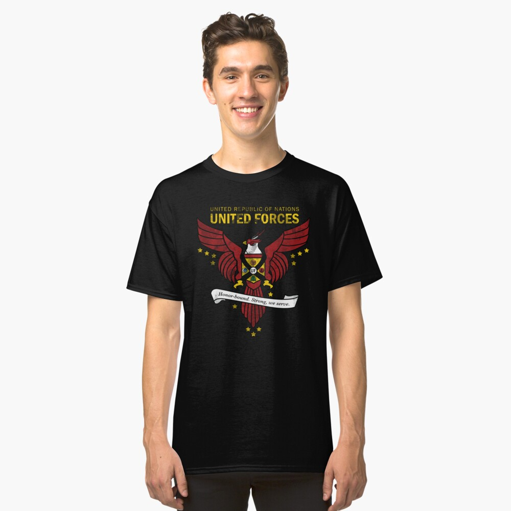 United Forces Insignia Classic T-Shirt Front