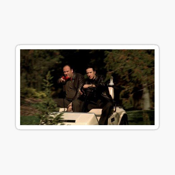 Tony & Furio Come For You Sticker